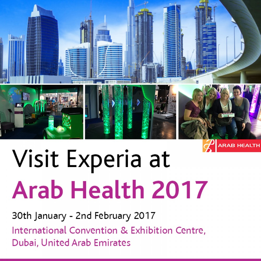 Experia at Arab Health 2017