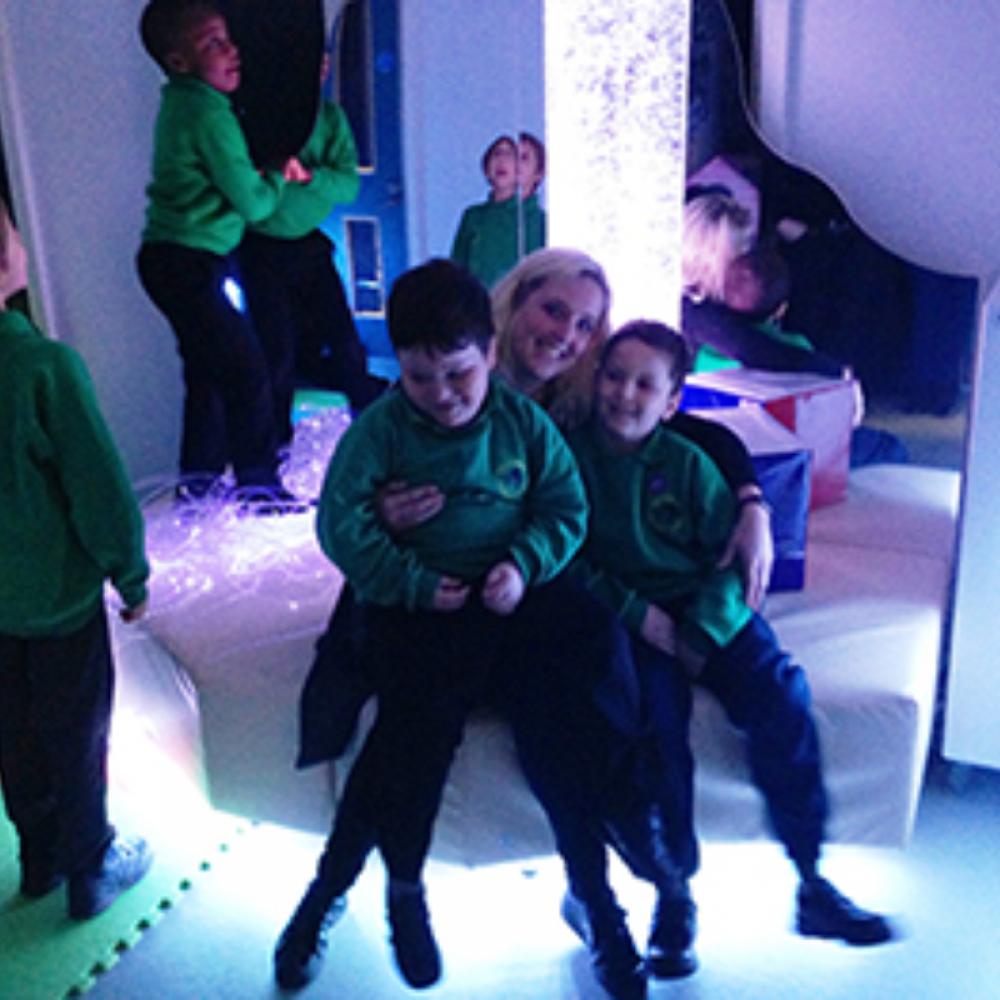 Hounslow Special School Celebrate Their New Sensory Room