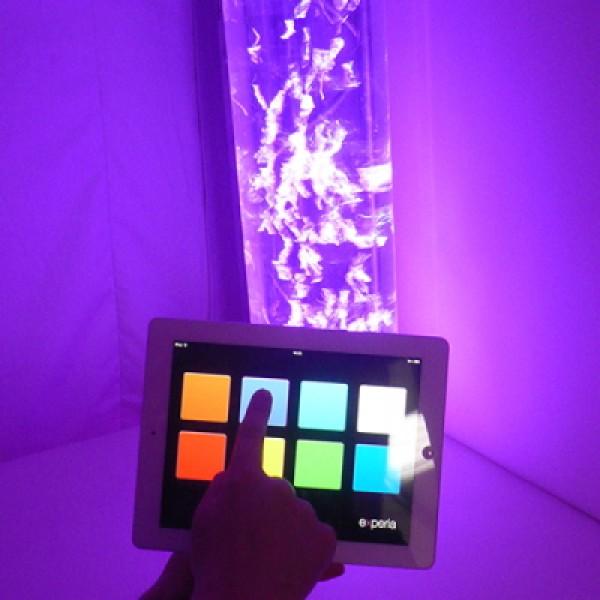 IRiS+ LED Bubble Tube