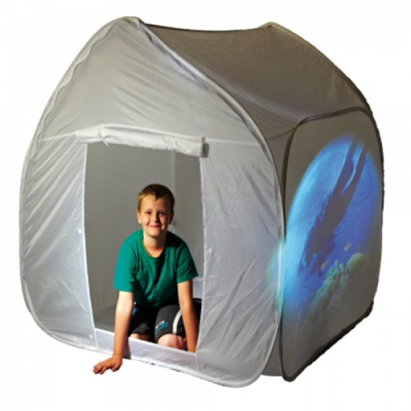 White Pop Up Tent