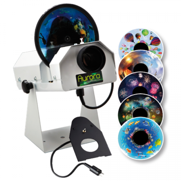 Aurora LED Sensory Projector Bundle
