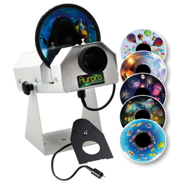 Aurora LED Sensory Projector Bundle