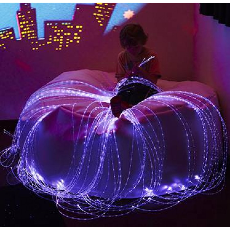 LED Fibre Optic Softie – LED optička vlakna sa strunjačom