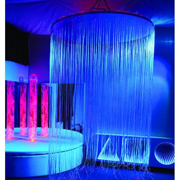 IRiS Circular LED Fibre Optic Shower