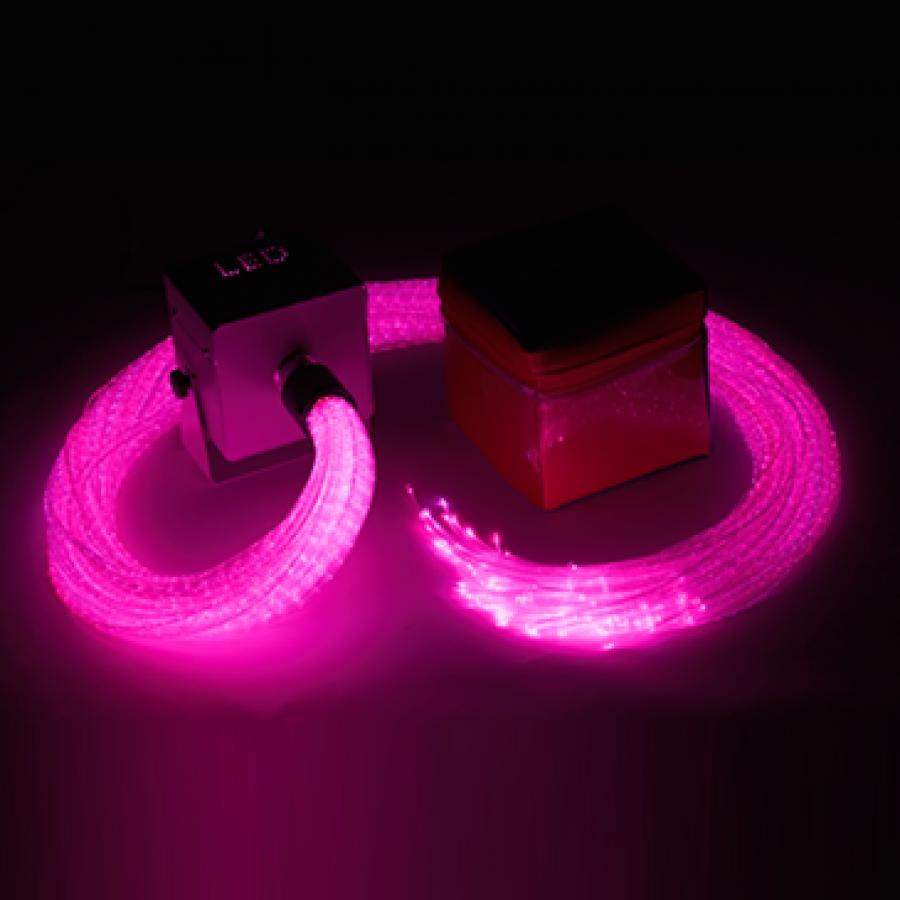Komplet LED optičkih vlakana i kocke - iRiS LED Fibre Optic & Qube Bundle