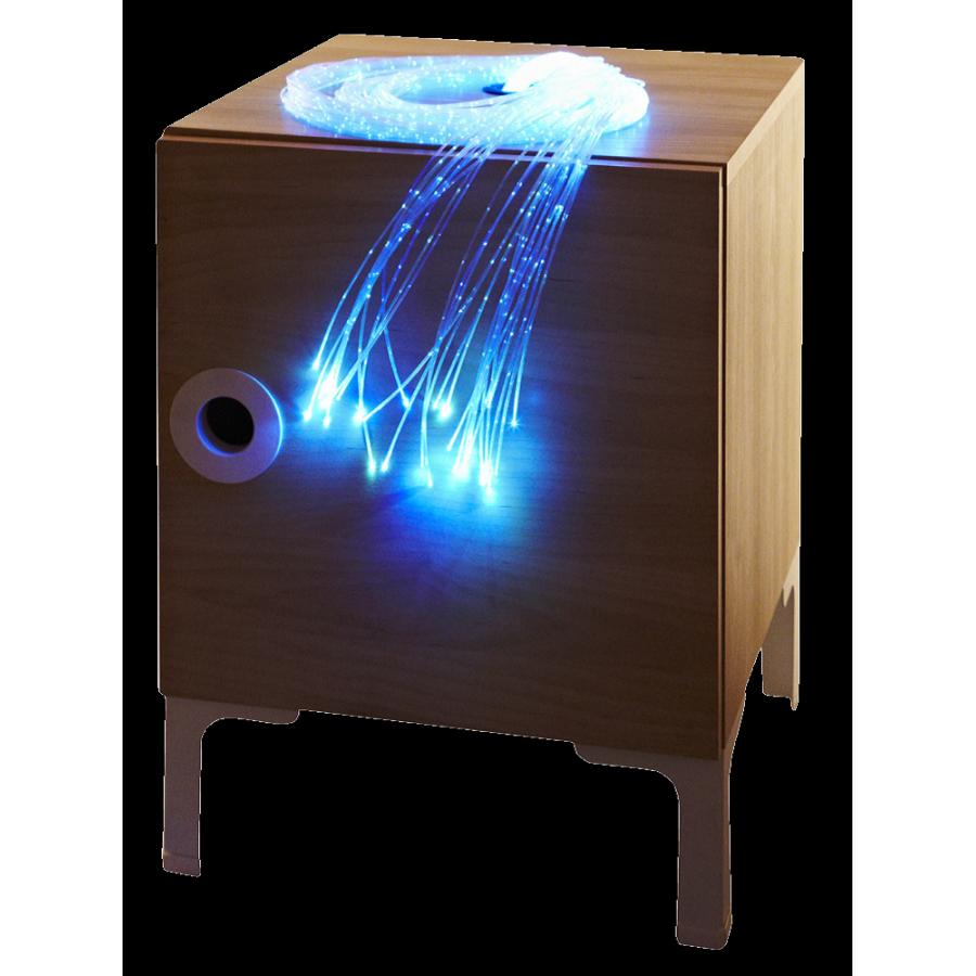 LED Fibre Optic Bedside Cabinet