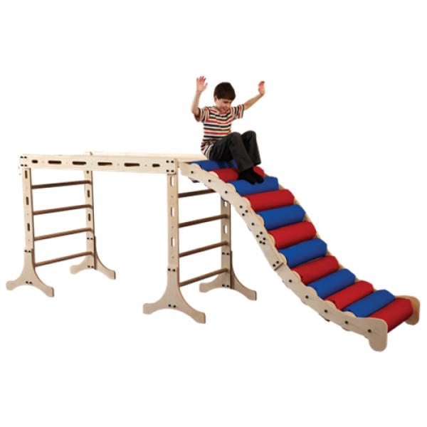 Monkey Climber Roller Slide
