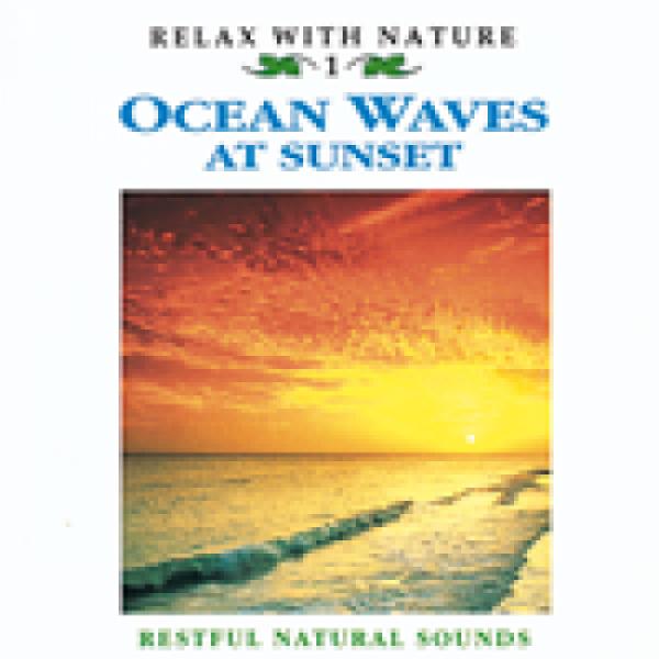 Ocean Waves at Sunset CD