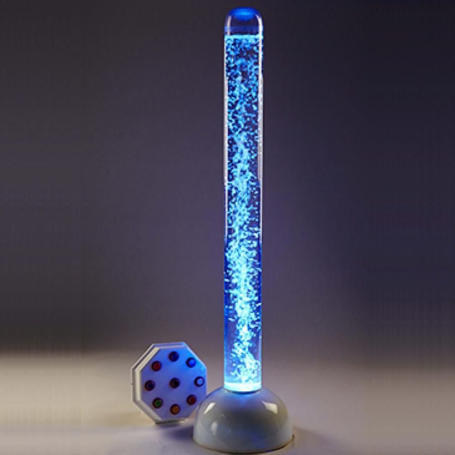 Superaktivna LED interaktivna lampa sa mehurićima