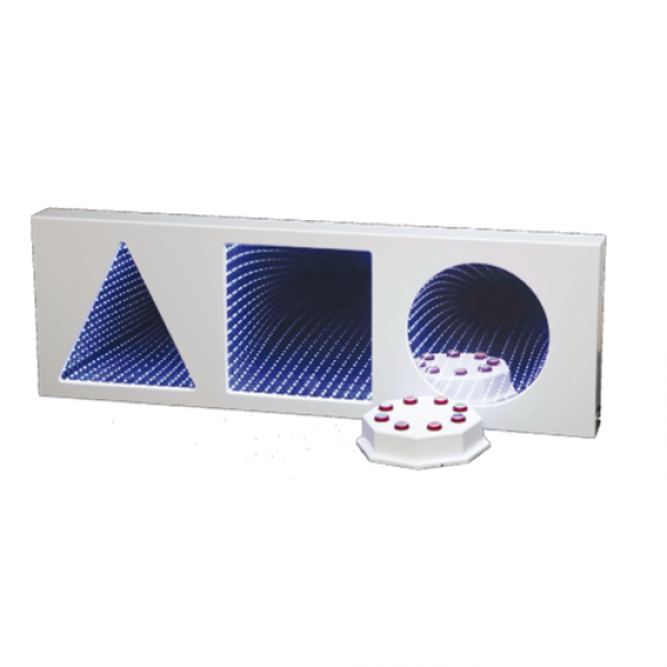 Superactive LED Infinity Panel - 3 Shapes