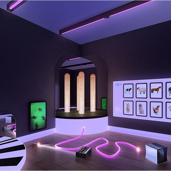 Yinyang - The low vision sensory room
