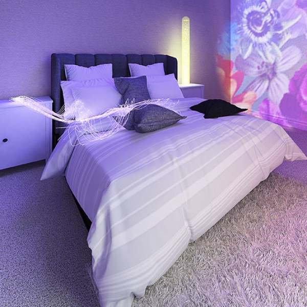Zoladz - The calming sensory bedroom for those with dementia